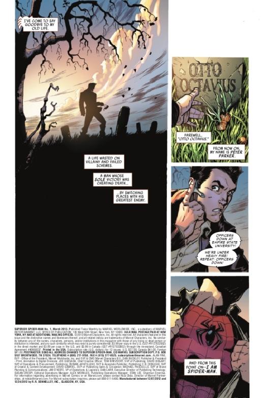 the amazing spider-man ( la muerte de peter parker) 520