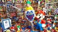Mundo Geek | La Colección más grande del mundo de objetos del recuerdo de videojuegos(Video)