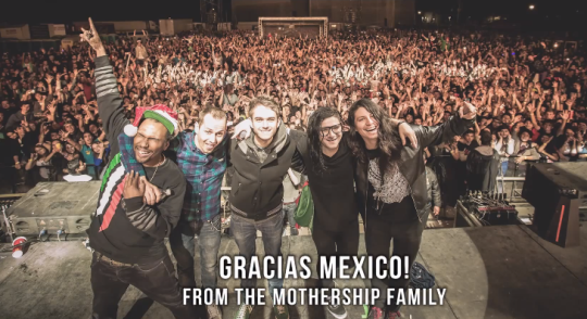 Skrillex Mexico Mothership