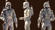 Mundo Geek | Boba Fett – Screen Test con traje blanco